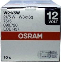 Комплект автоламп Osram 7515-10 W21/5W 12V 10шт.