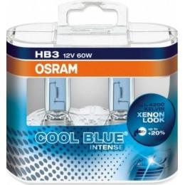 Комплект ламп галогенных Osram 9005CBI-Box HB3 12V COOL BLUE INTENSE 2шт.