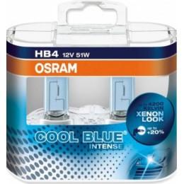 Комплект ламп галогенных Osram 9006CBI-Box HB4 12V COOL BLUE INTENSE 2шт.