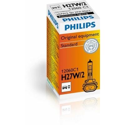 Автолампа галогенная Philips 12060C1 H27/2 12V 27W PGJ13