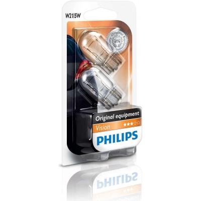 Комплект автоламп Philips 12066B2 W21/5W 12V 2шт