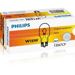 Комплект автоламп Philips 12067CP W16W 12V 10шт.