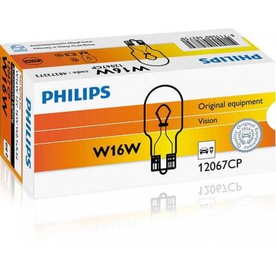 Комплект автоламп Philips 12067CP W16W 12V 10шт
