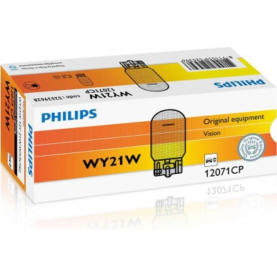 Комплект автоламп Philips 12071CP 12V-WY21W 10шт