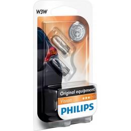 Комплект автоламп Philips 12256B2 W3W 12V 2шт.