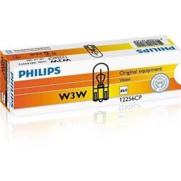 Комплект автоламп Philips 12256CP W3W 12V 10шт.