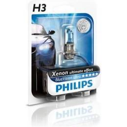 Автолампа PHILIPS 12336BVU H3 12V 55W 4000K