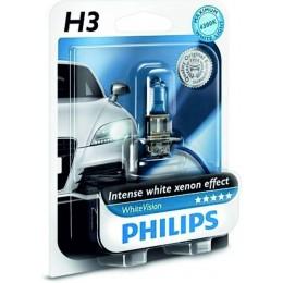 Галогенная лампа Philips 12336WHVB1 H3 WhiteVision
