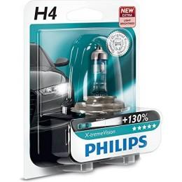 Автолампа PHILIPS 12342XVB1 H4 12V-60/55W X-Treme Vision +130%