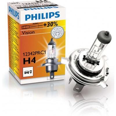 Автолампа PHILIPS 12342PRC1 H4 12V 60/55W PREMIUM +30%