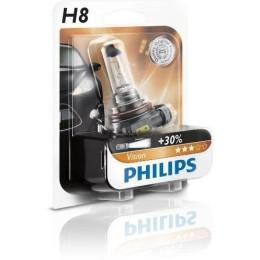 Галогеновая лампа Philips H8 12360B1 +30%
