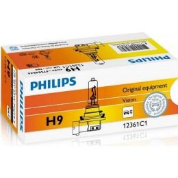 Лампа галогенная Philips 12361C1 H9 Vision +30%