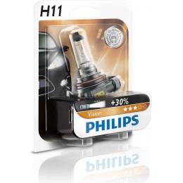 Автолампа PHILIPS 12362PRB1 H11 12V 55W Vision +30%