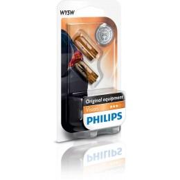 Комплект автоламп Philips 12396NAB2 WY5W 12V 2шт.