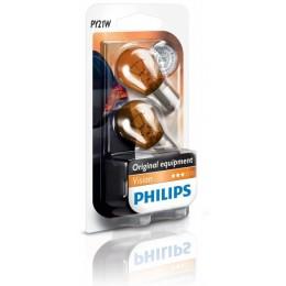 Комплект автоламп PHILIPS 12496NAB2 12V 21W 2шт.