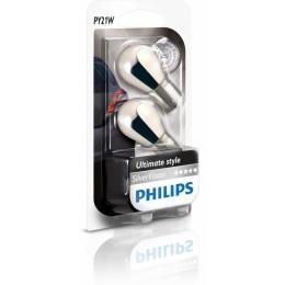 Комплект автоламп PHILIPS 12496SVS2 12V-21W (BAU15s) 2шт.