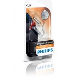 Комплект ламп PHILIPS 12516B2 W1,2W 12V-1,2W (W2,1x4,6d) 2шт.