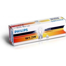 Комплект ламп PHILIPS 12516CP W1,2W 12V-1,2W 10шт.