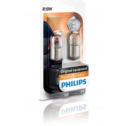 Комплект автоламп Philips 12814B2 R10W Vision 2шт.