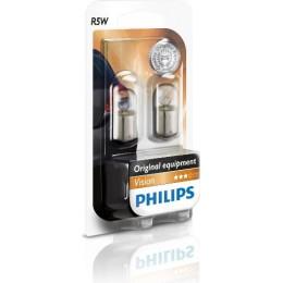 Комплект автоламп PHILIPS 12821B2 R5W 12V-5W (BA15S) 2шт.