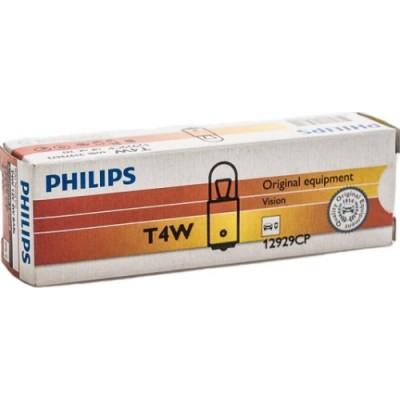 Комплект автоламп PHILIPS 12929CP T4W 12V-4W 10шт
