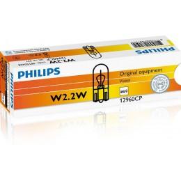 Комплект автоламп Philips 12960CP 2.2W 12V 10шт.