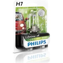 Автолампа PHILIPS 12972LLECOB1 H7 12V 55W PX26D LONGLIFE ECOVISION