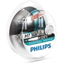 Комплект автоламп PHILIPS 12972XV+S2 X-Treme Vision H7 12V-60/55W +130%