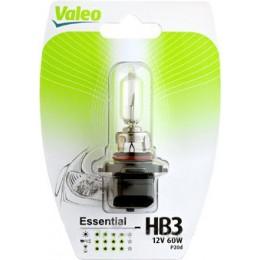 Лампа галогеновая Valeo 032013 HB3 12V