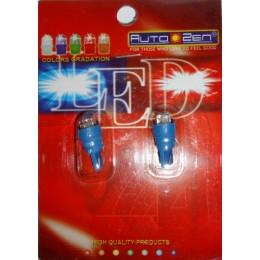Комплект светодиодных автоламп Pilot YH-514 T10W 2шт. BLUE 12V