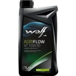 Моторное масло WOLF AGRIFLOW 4T 10W30 1л