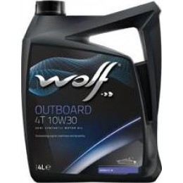 Моторное масло WOLF OUTBOARD 4T 10W30 4л