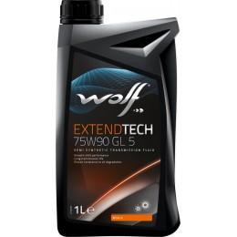 Трансмиссионное масло WOLF EXTENDTECH 75W90 GL 5 1л