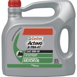 Моторное масло Castrol ACT> EVO X-TRA 4T 10W-40 4л