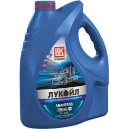 Моторное масло Лукойл авангард SAE 10W-40 API CF-4/SG 5л