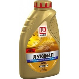 Моторное масло ЛУКОЙЛ ЛЮКС полусинтетическое 5W-40 SL/CF 1л