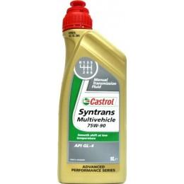 Трансмиссионное масло CASTROL SYNTRANS Mutivehicle 75W-90 1л
