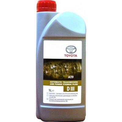Гидравлическая жидкость Toyota ATF D-III 1л