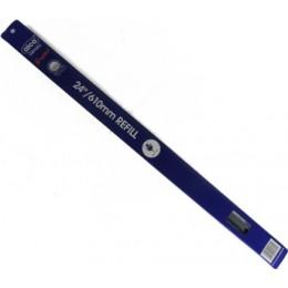 Сменные резинки стеклоочистителя ALCA 119000 Single Edge 60см