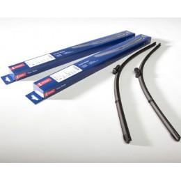Комплект бескаркасных щеток стеклоочистителя Denso Flat DF-009