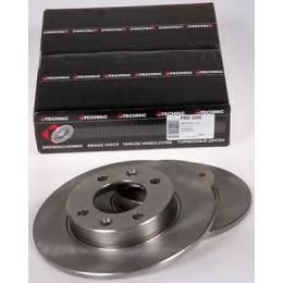 Тормозные диски задние PROTECHNIC PRD5266 Citroen Xsara, Peugeot 307 1.4-2.0HDi 01>